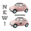 Sticker Fiat rose