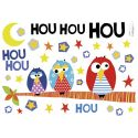 Stickers Trio Houhou