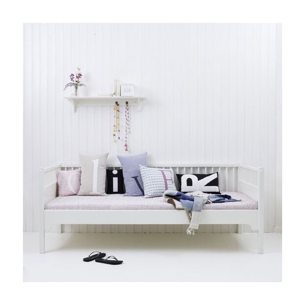 lit enfant banquette blanc seaside bambins d co. Black Bedroom Furniture Sets. Home Design Ideas