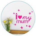 Mini Sticker Love Mum