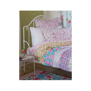 drap housse enfant daisy daisy bambins d co. Black Bedroom Furniture Sets. Home Design Ideas
