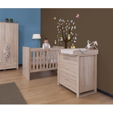 commode chambre commode commode 6 tiroirs bois naturel univers chambre commode adulte. Black Bedroom Furniture Sets. Home Design Ideas