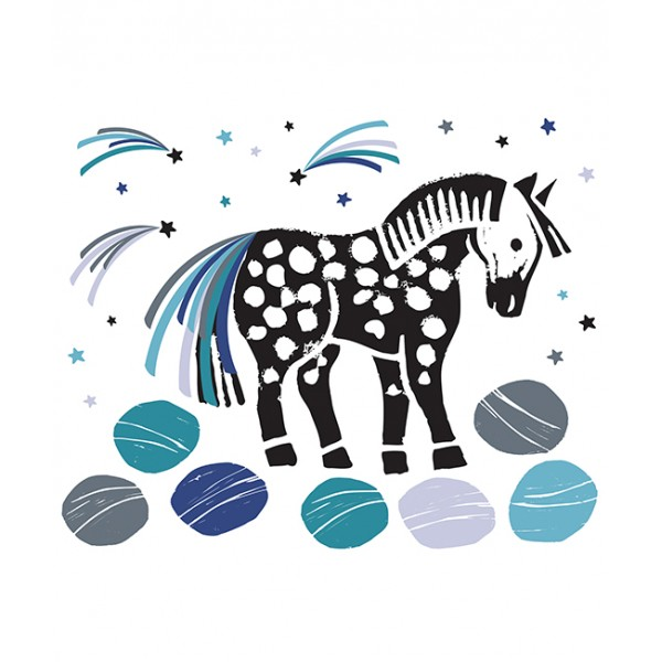 sticker g 233 ant cheval bambins d 233 co