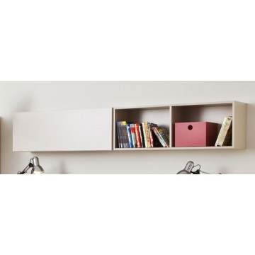 Pink beige furniture trend home design and decor - Etagere murale avec porte coulissante ...