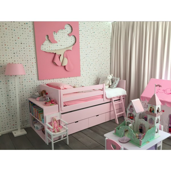 lit enfant combi mobile liso bambins d co. Black Bedroom Furniture Sets. Home Design Ideas