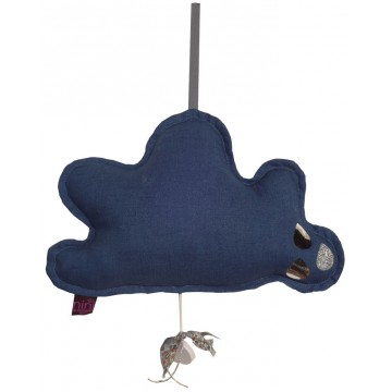 Suspension musicale Nuage Indigo