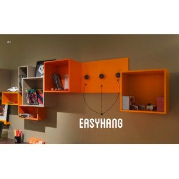 Ensemble Mural Easy box orange
