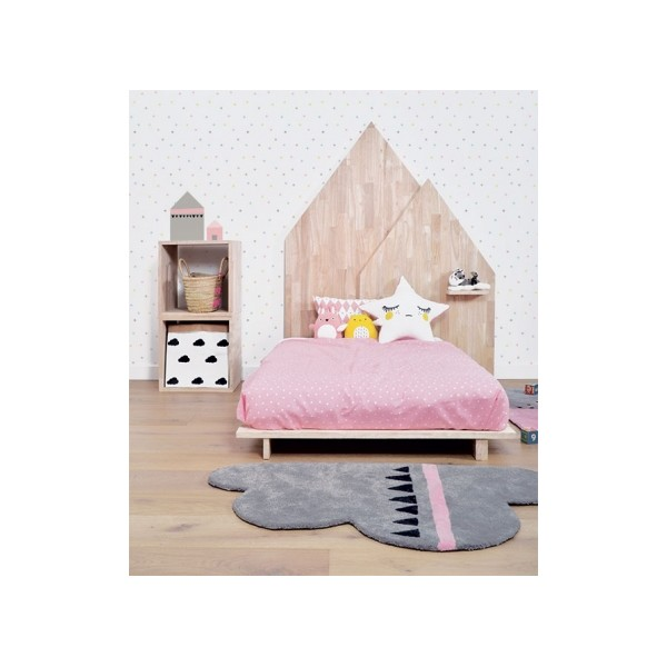 papier peint pois happy bambins d co. Black Bedroom Furniture Sets. Home Design Ideas