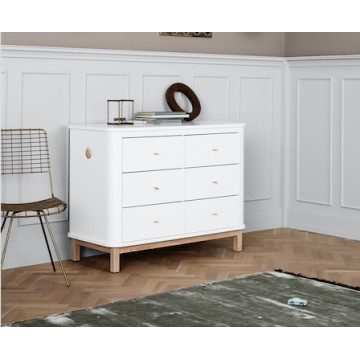 Commode Wood collection 6 tiroirs