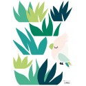 Sticker tropical Petit Oiseau